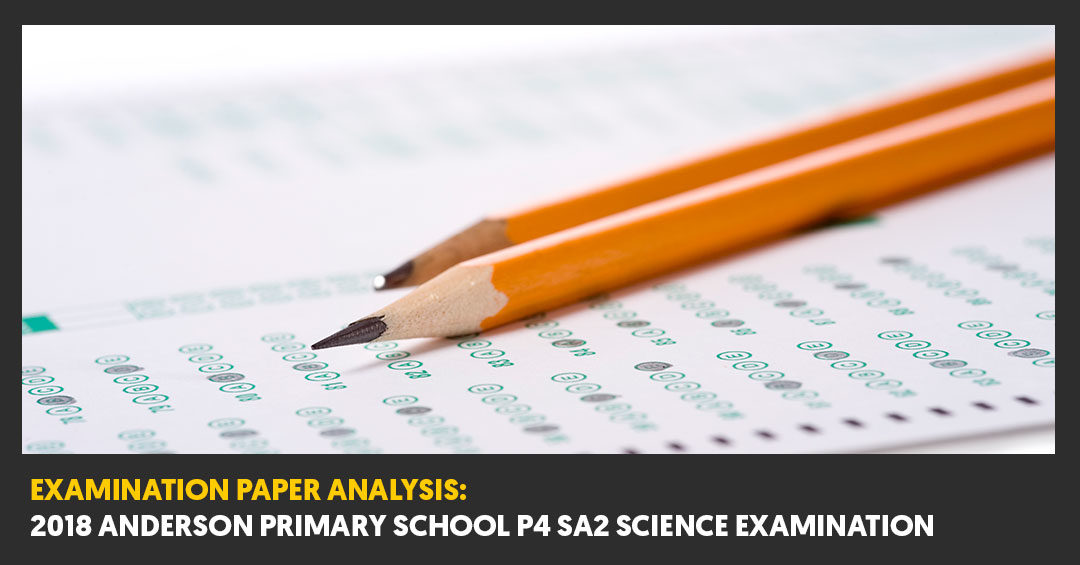 2018 Anderson Primary School (ADPS) P4 SA2 Examination Paper Analysis